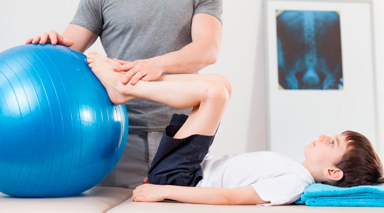 fisioterapeuta infantil